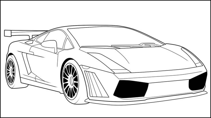 20 best Best Sport Car Coloring Pages in HD Resolution images on ...