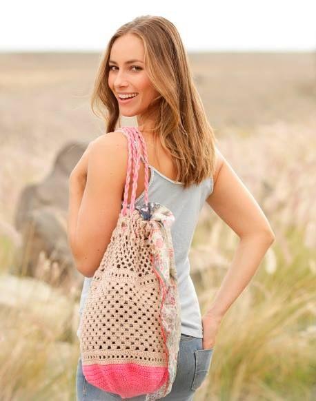 Wonderful cotton crochet summer bag http://ift.tt/2rHTk0m