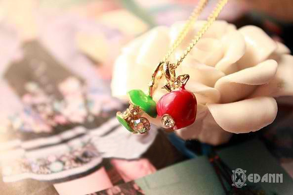 An Apple a day Necklace - Php 130