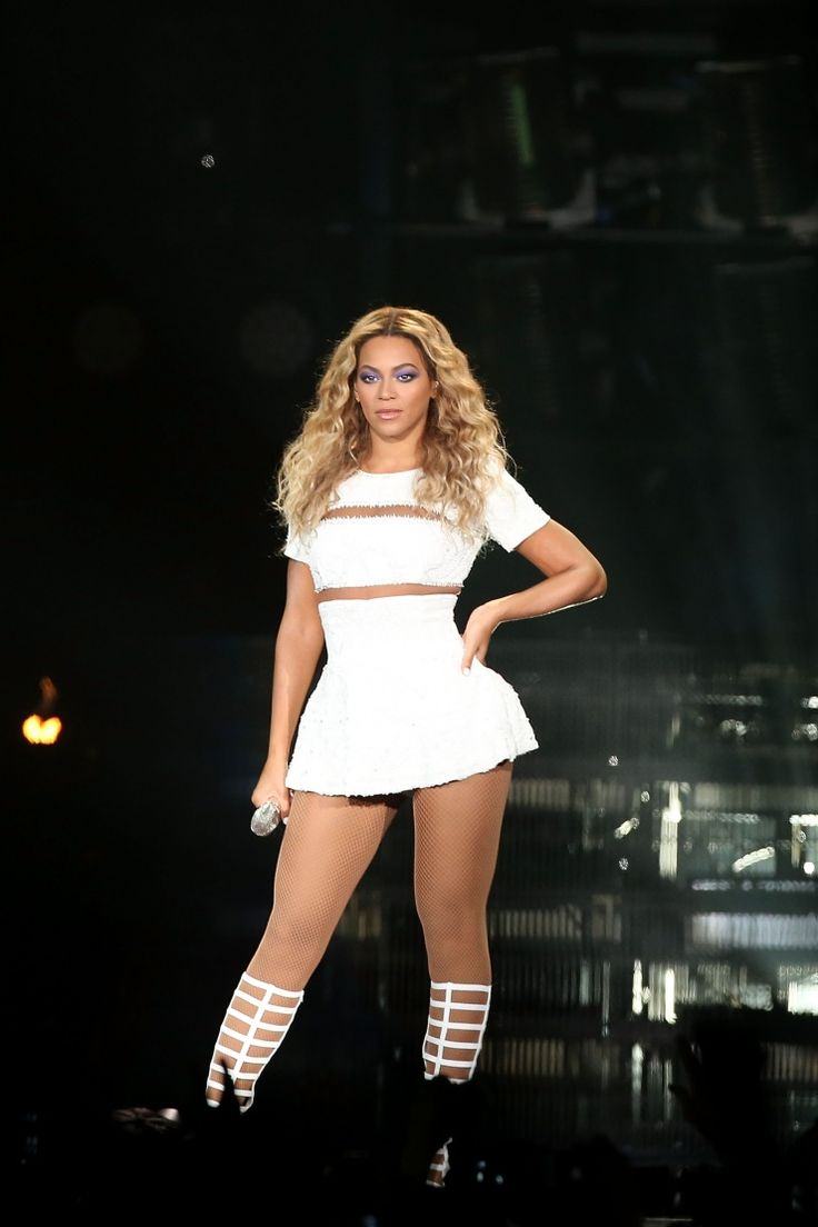Sasha Fierce, aka Beyoncé, gives a lot of attitude during a performance on Oct. 31 in Sydney