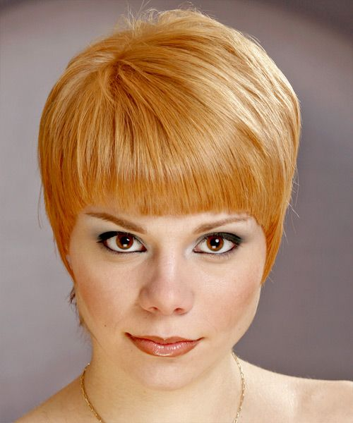Short Straight Casual Hairstyle Casual Hairstyles