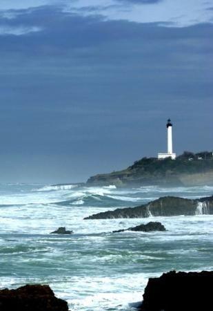 Biarritz campagne photos et phares - Phare de biarritz ...