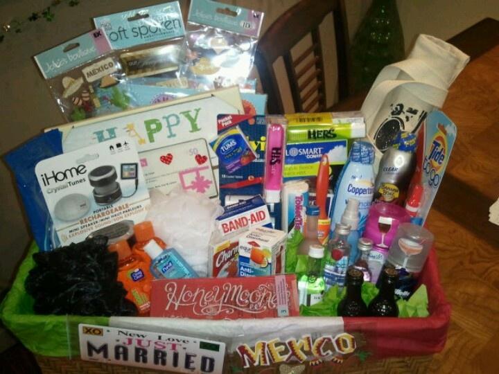 Best 25+ Honeymoon basket ideas on Pinterest | Honeymoon gifts ...