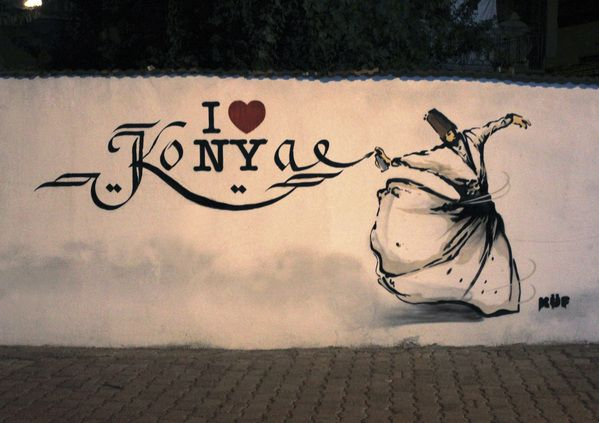 i love koNYa - küf project - konya / turkey