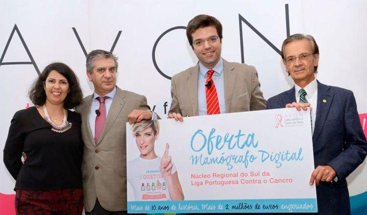 AVON doa Mamógrafo digital ao Núcleo Regional do Sul da Liga Portuguesa Contra o Cancro