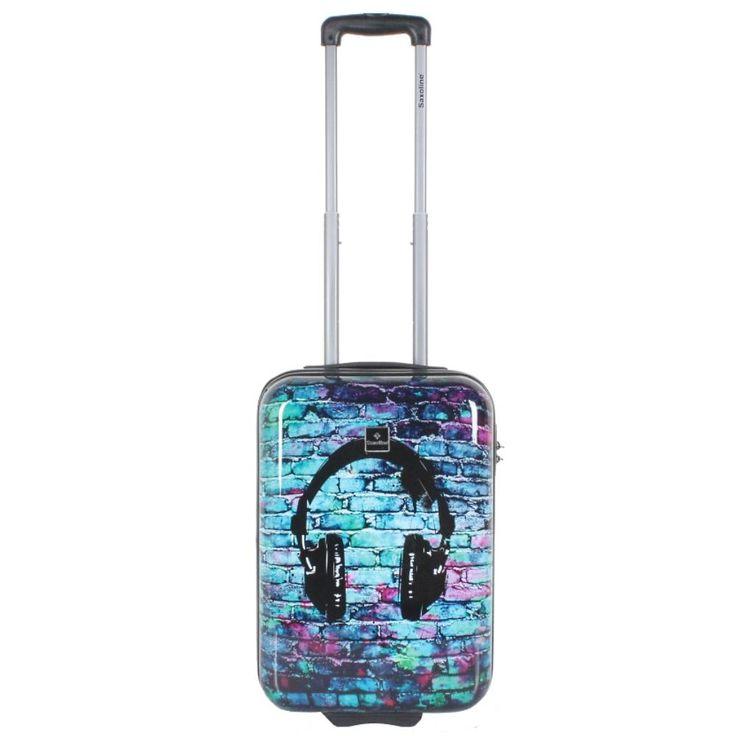 Saxoline suitcase 2-wheel 78 cm headphone