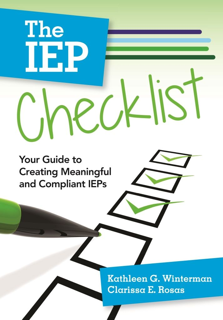 EXCERPT Sample the step-by-step guidebook The IEP Checklist