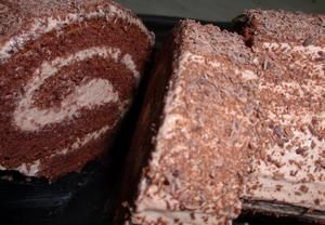 Kakaová roláda s čokoládovým krémem Recepty.cz - On-line kuchařka