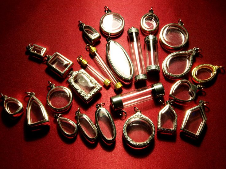 locket wholesale | Wholesale Jewelry Supplies, Terrarium Necklace, Clear Containers ...