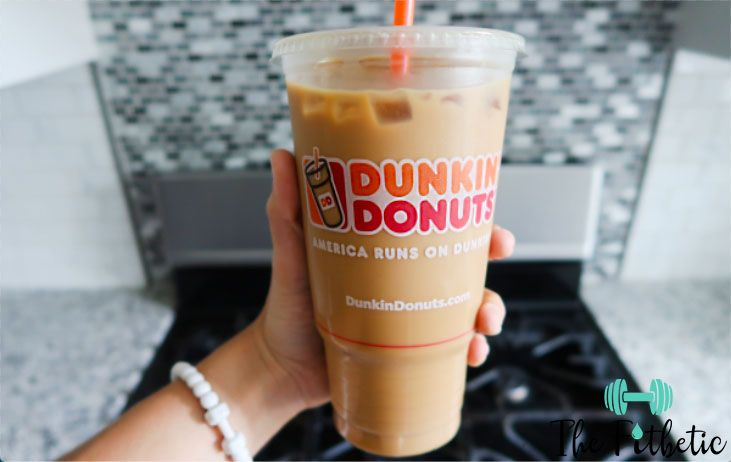 LOW CARB FAT Dunkin Donuts Coffee Order