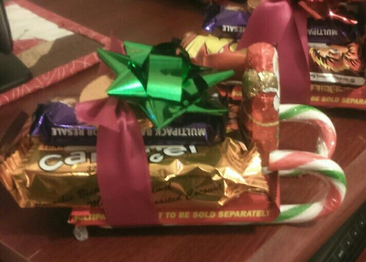 My effort in making an alternative to a selection box. Well chuffed!
