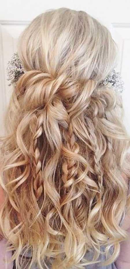 6. Frisuren mit Zöpfen für langes Haar