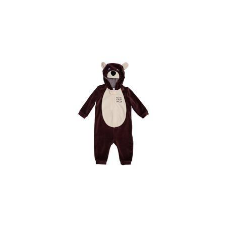 PlayToday Комбинезон для мальчика PlayToday  — 1209р. ---------- Характеристики:  • Вид одежды: комбинезон • Предназначение: карнавальный костюм, повседневная одежда • Пол: для мальчика • Сезон: зима, демисезонный • Материал: хлопок – 80%, полиэстер – 20% • Цвет: коричневый, светло-бежевый • Рукав: длинный • Вырез горловины: круглый • Застежка: молния спереди • Наличие капюшона • Особенности ухода: ручная стирка без применения отбеливающих средств, глажение при низкой температуре   PlayToday…