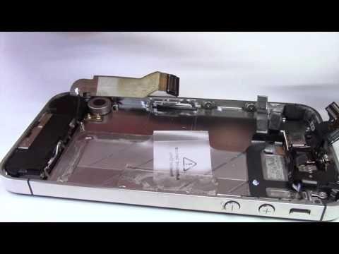 Tutoriel : Changer l'écran d'un iPhone 4S - YouTube