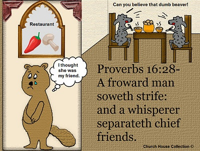 Church House Collection Blog: Proverbs 16:28 Clipart