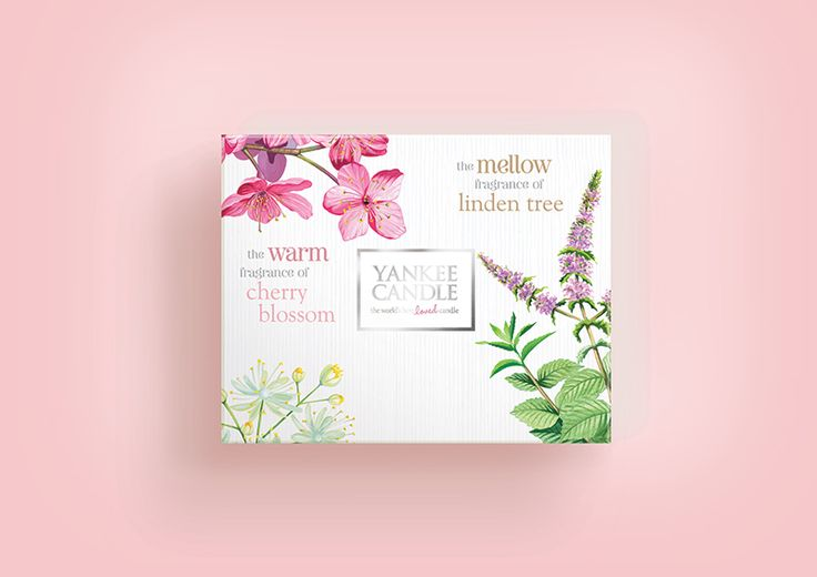 Yankee Candle Pure Essence Thematic: Gift Packaging Design