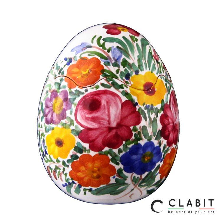 #Easter #Abruzzo #Pasqua #fioraccio #flowers #ceramic #handmade #fiori #flowers #artigianatoitaliano