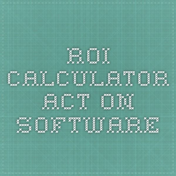 ROI Calculator - Act-On Software