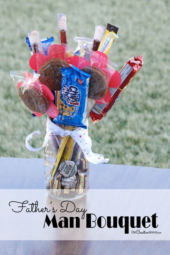 9 best fathers day images on pinterest arts and crafts kits diy diy man bouquet candy bouquet perfect for fathers day and valentines day solutioingenieria Gallery