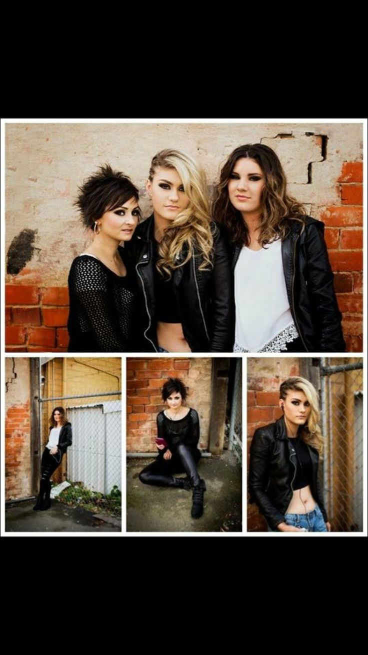 Photo shoot grunge themed hairstyles