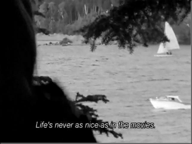 """Life's never as nice as in movies"" Le Temps Perdu, Michel Brault (1964)"