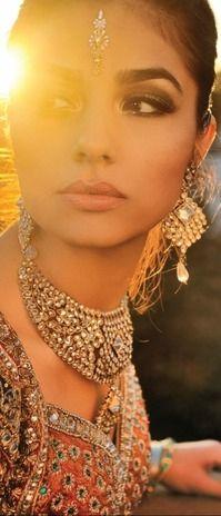 Simply love it! Simple Yet elegant!   indian bride
