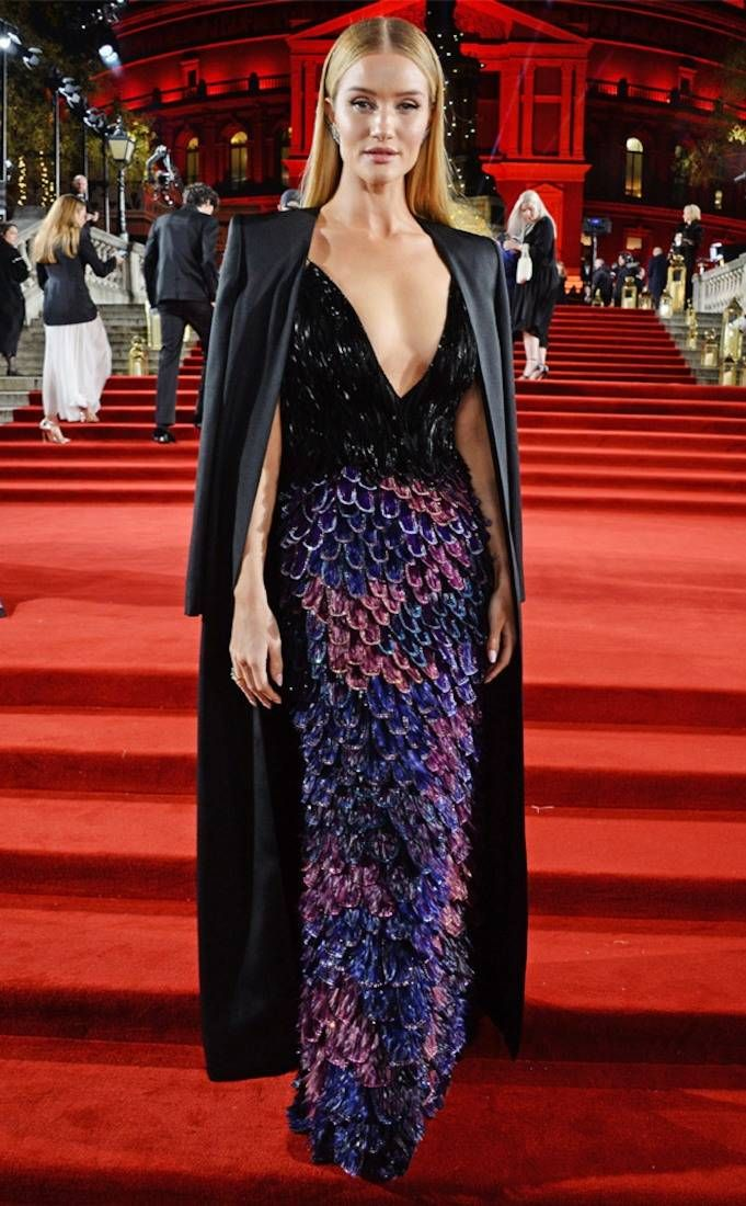 f7e7292811c6 Rosie Huntington-Whiteley from British Fashion Awards 2018 Best Dressed  Stars  Kaia Gerber
