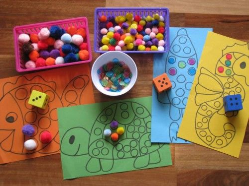 Invitation to play....Counting and Subitising Activities *Free Printable Templates*