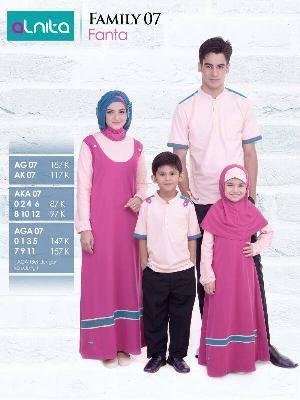 Baju Sarimbit Alnita Family 07 Fanta