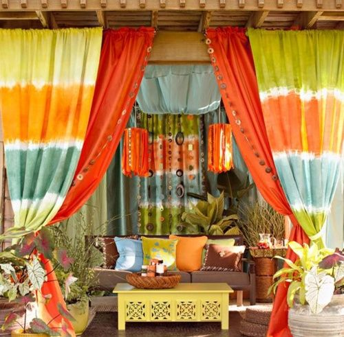 A Warm Rug Some Fall Primping Home Decor: 17 Best Ideas About Bohemian Patio On Pinterest