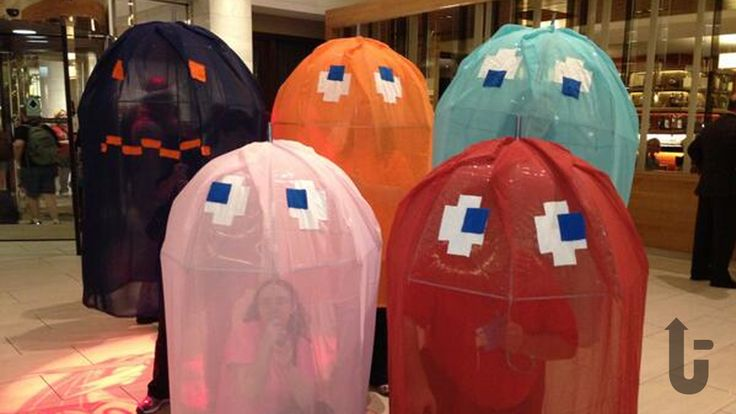 Pac-Man, video game, costumes, cosplay, ghosts