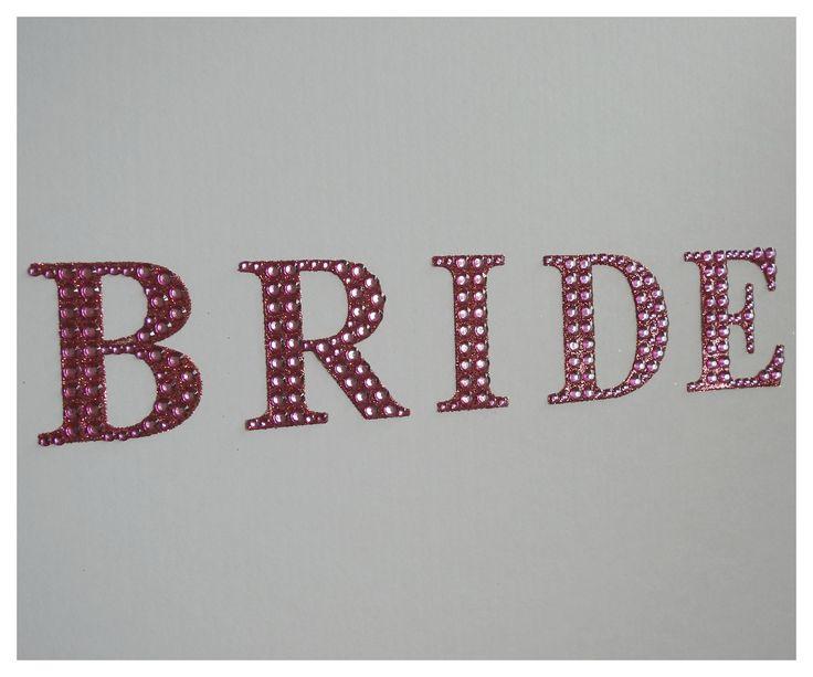 Pink Diamante Bride Wedding Dress Travel box from www.bonbod.com