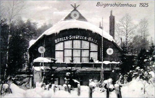 Sopot 1925 (old Wagner street, now Moniuszki 10)
