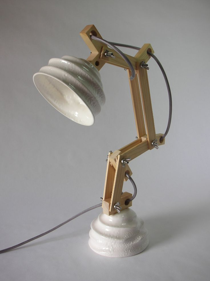 http://www.leledacuca.net/voltaxe #design #handmade #lamp #lighting