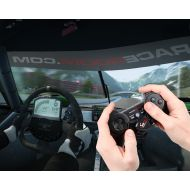 Raceroom RR DC1-Driving Controller wired is supported with ergonomic Mini-Wheel-Design for complete steering control. Give your gaming experience a new twist with the most precise racing controller.