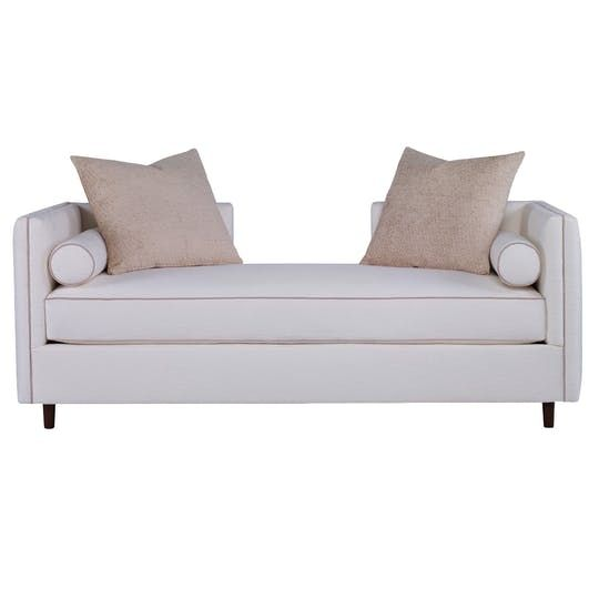 Ready To Ship Andante Recamier  Contemporary, Transitional, Upholstery  Fabric, Chaise by Curated Kravet