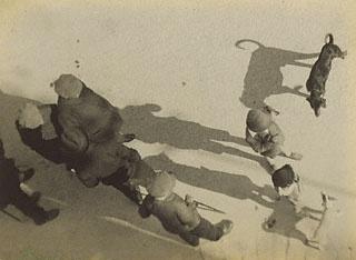 Study of People and Shadows, Paris, André Kertész, 1928. © Estate of André Kertész