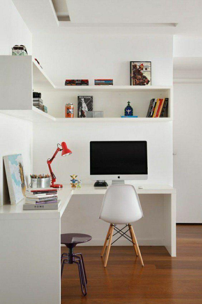 Les 25 meilleures id es de la cat gorie bureau d 39 angle sur pinterest bu - Bureau sur mesure ikea ...