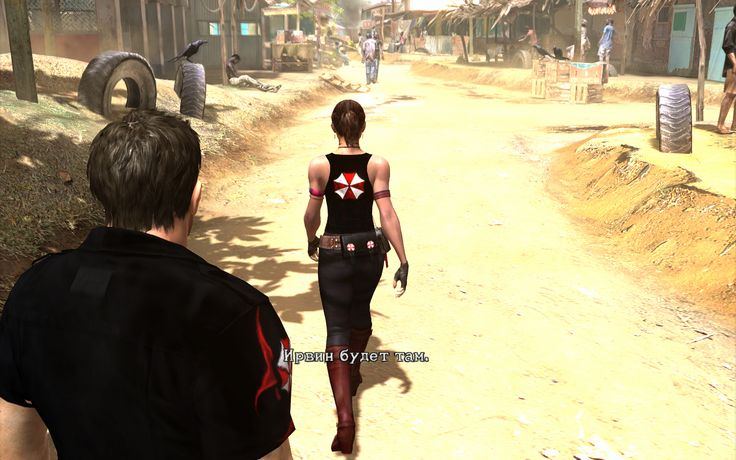 Umbrella Characters Pack / Screen 001 / Mods for Resident Evil 5(RE5) / Characters - Chris BSAA and Sheva BSAA
