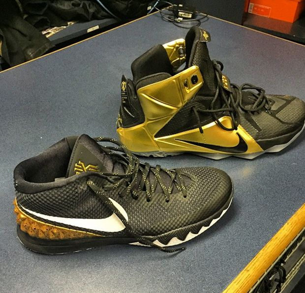 nike lebron 12 | 新聞速報 / Nike LeBron 12 與 Kyrie 1 'Grammy Night