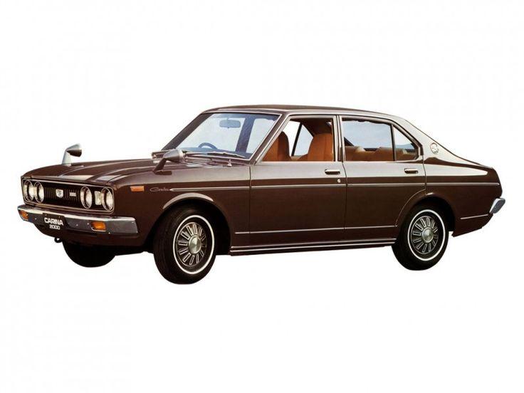 Toyota Carina, 2.0 GT, 4 door saloon, MkI, 1975