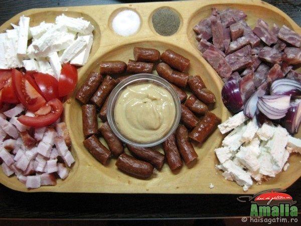 Aperitive   idei de platouri (aperitiv traditional)