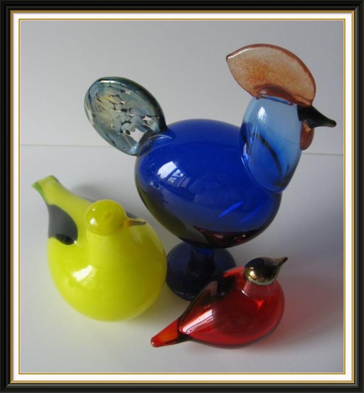 Primary colors in Toikka birds!
