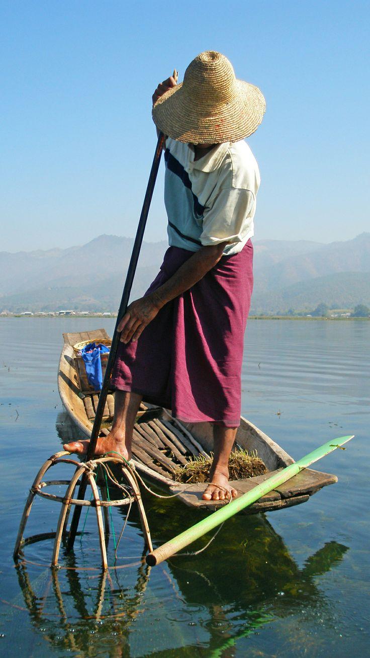 Tour serene Lake Inle by longtail boat. #Myanmar