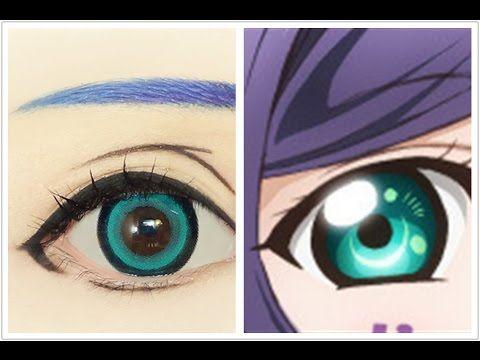 Tutorial : Anime Eye Makeup 212 • Toujou Nozomi