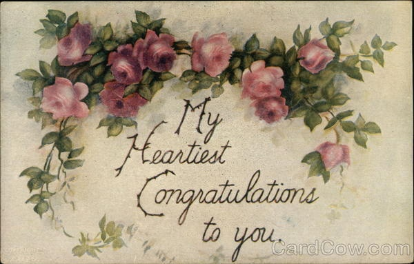 My Heartiest Congratulations to You Greetings