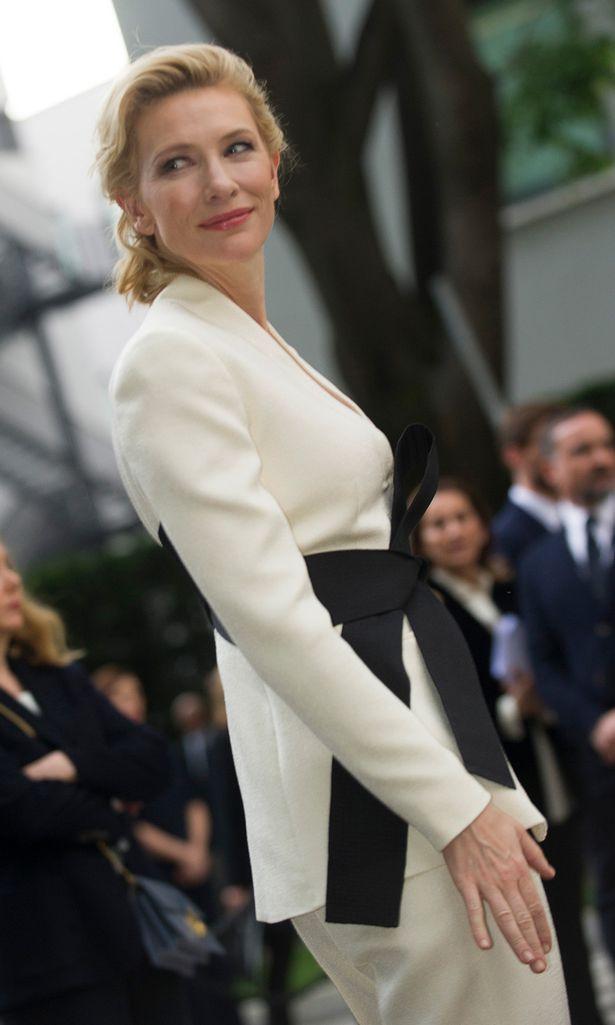 Cate Blanchett in Giorgio Armani's 40th Anniversary Celebrations