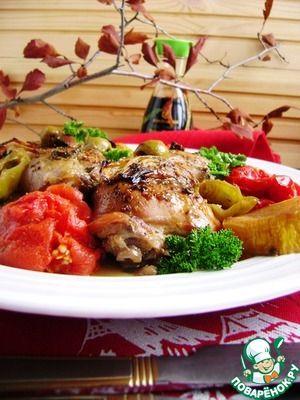 "Курица для лентяек «Праздничная сиеста» / Fast Easy chicken ""Fiesta"""