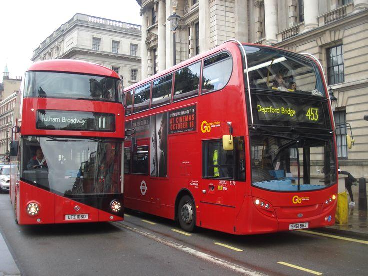 Open boarding returns on Route 453 in form of New #Routemaster  #borismaster #newroutemaster #newbusforlondon #londonbus #london #tfl #londonbuses #transport #doubledeck