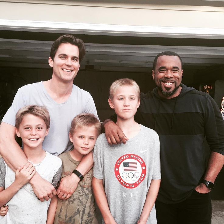 Matt Bomer Family